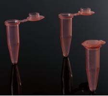 1.5ml Microcentrifuge Tubes -- Red Color  500/pack