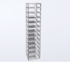 Vertical Type Freezer Racks