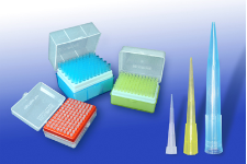 10ul pipet tips, 1000/bag